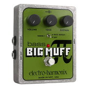 ELECTRO-HARMONIXBassBigMuffPiDistortion/Sustainerベースビッグマフベースエフェクター