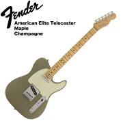 FenderAmericanEliteTelecasterMNCHAMPエレキギター