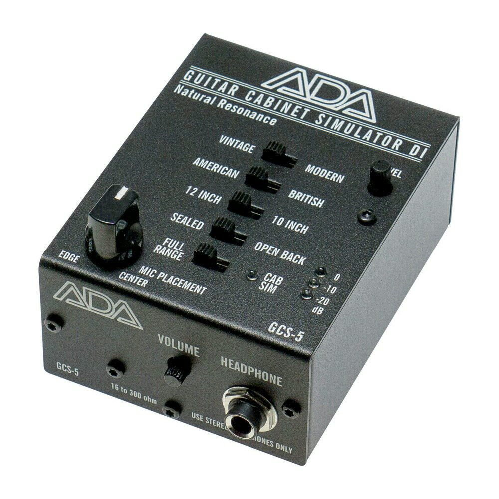 DAW・DTM・レコーダー, ダイレクトボックス ADA GCS-5 DI