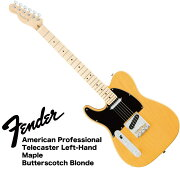 FenderAmericanProfessionalTelecasterLeft-HandMNBTBASHレフティエレキギター
