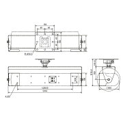 JBLPROFESSIONALCH50スピーカー用天井取付金具黒