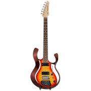 VOXVSS-1-24MWRCB-QStarstreamMetallicWineRedFramewithCherryBurstQuiltedMapleTopモデリングギター