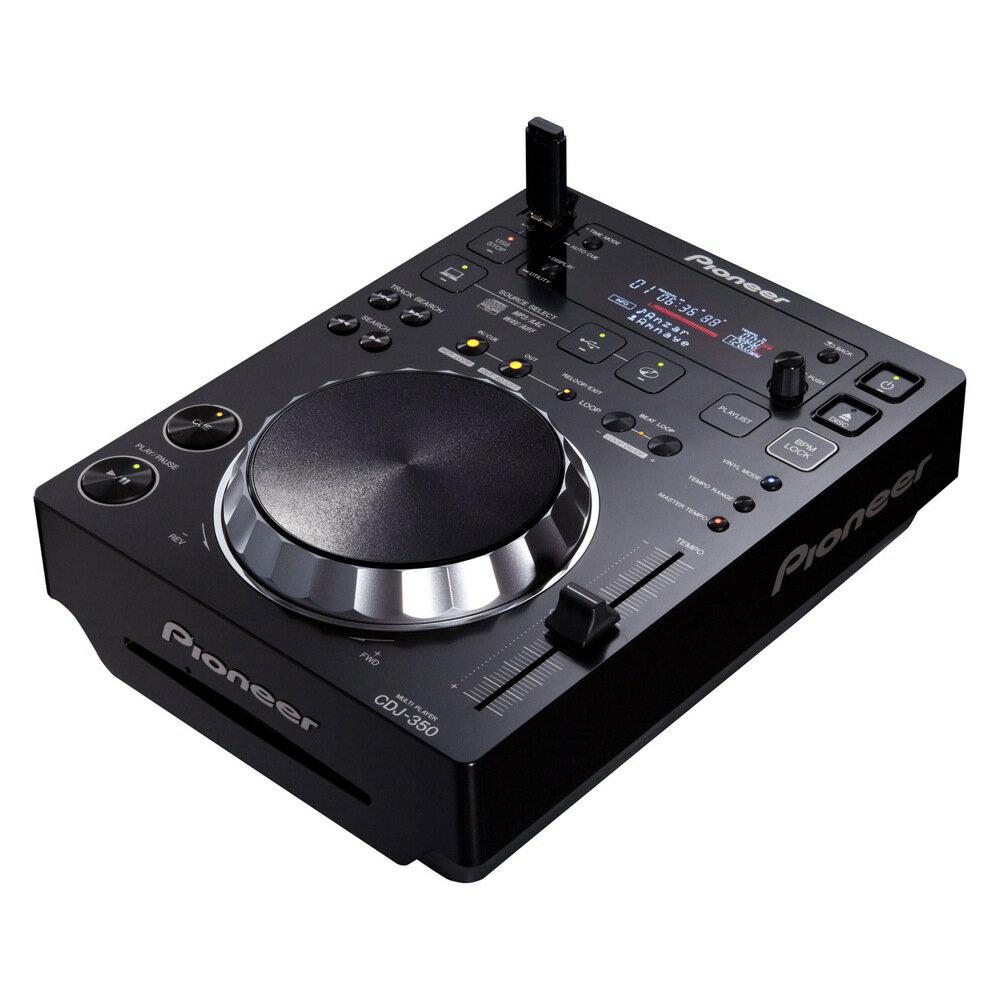 DJ機器, CDJプレイヤー Pioneer CDJ-350 Black DJ