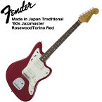 Fender Made in Japan Traditional 60s Jazzmaster TOR エレキギター