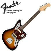 FenderAmericanOriginal'60sJaguarRW3-ColorSunburstエレキギター
