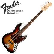 FenderAmericanOriginal'60sJazzBassRW3-ColorSunburstエレキベース