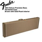 FenderPrecisionBassMulti-FitHardshellCasesBrownエレキベース用ハードケース