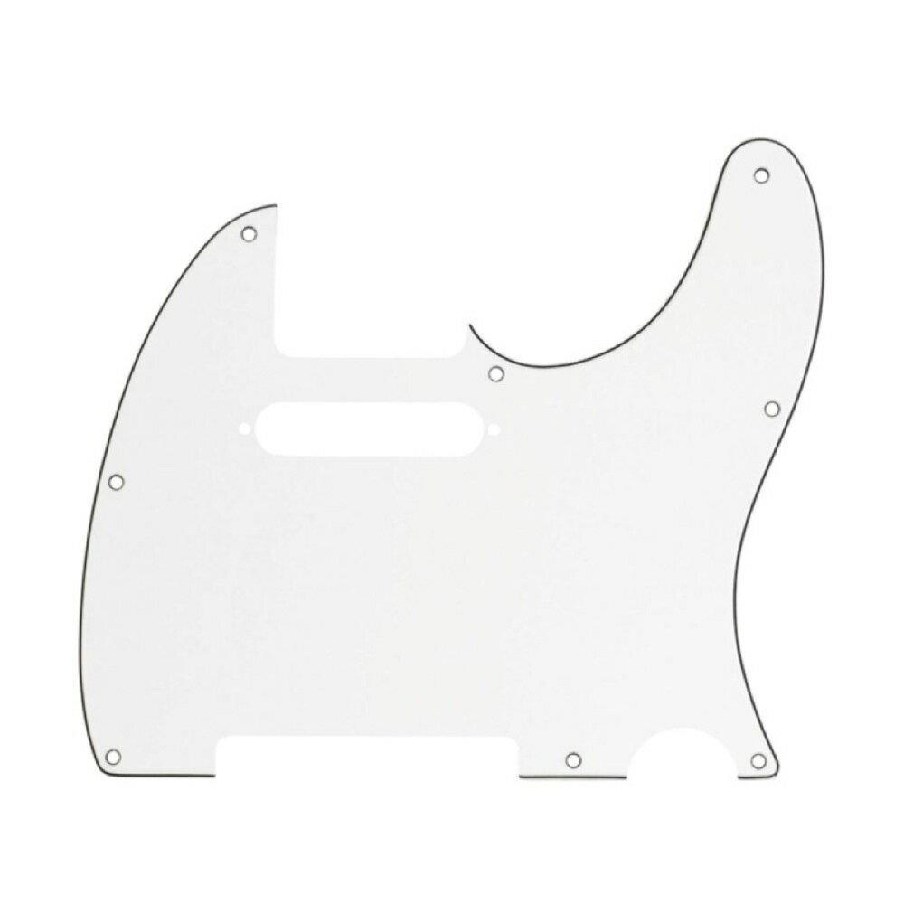 ギター用アクセサリー・パーツ, その他 Fender Multi-Ply Telecaster 8-Hole 3-Ply Parchment