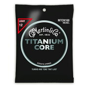 MARTINMTCN-160TitaniumCoreLightGaugeチタニウム・コアアコースティックギター弦