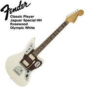 FenderClassicPlayerJaguarSpecialHHRWOWTエレキギター