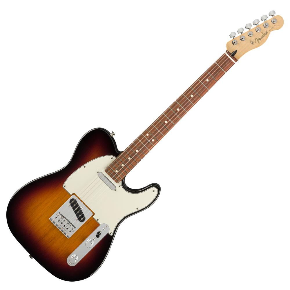 ギター, エレキギター Fender Player Telecaster PF 3TS