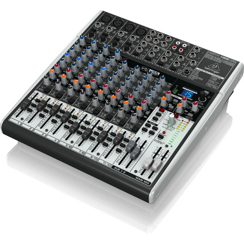 DAW・DTM・レコーダー, オーディオインターフェイス BEHRINGER X1622USB XENYX USB