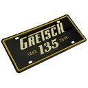 Gretsch 135th Anniversary License Plate ライセンスプレート