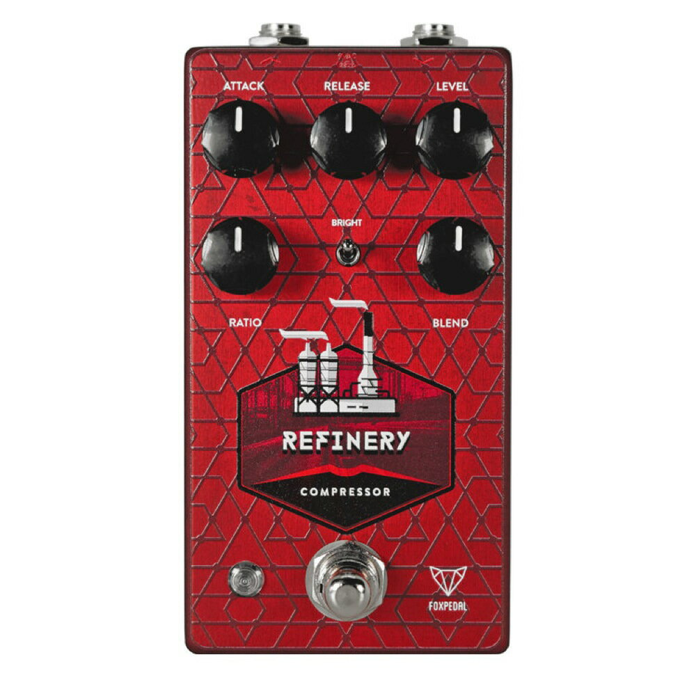 ギター用アクセサリー・パーツ, エフェクター Foxpedal Refinery V2