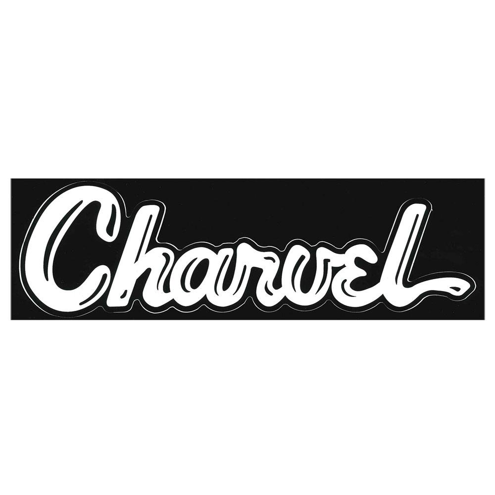 アクセサリー, その他 CHARVEL Vinyl Sticker White