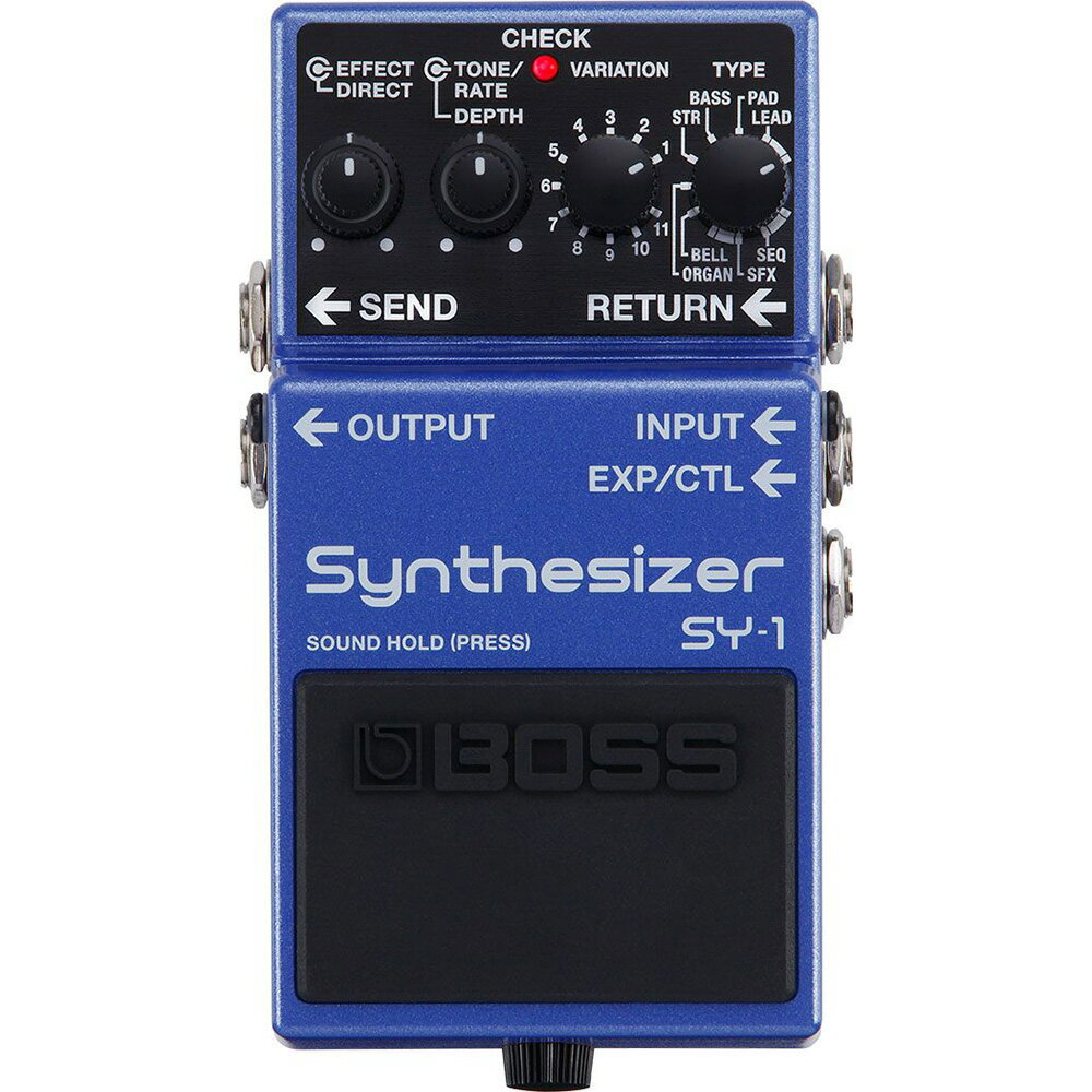 ギター用アクセサリー・パーツ, エフェクター BOSS SY-1 Synthesizer