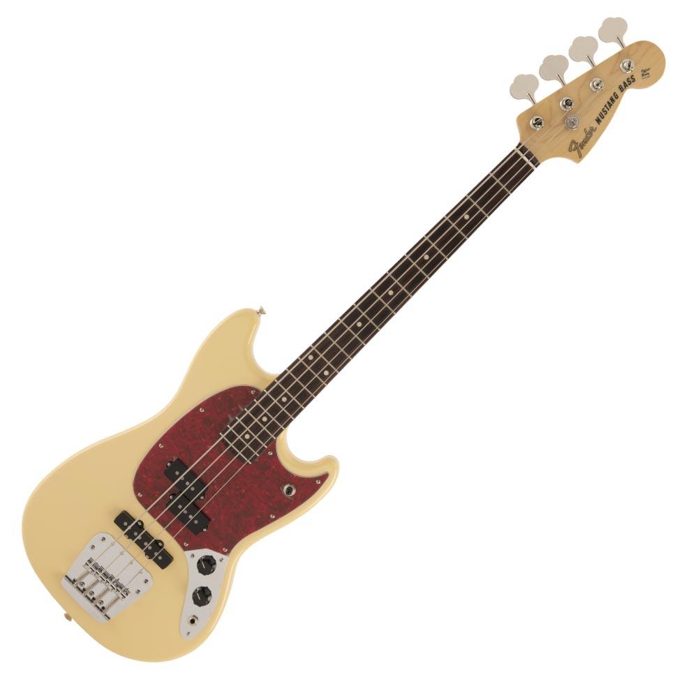 ベース, エレキベース Fender Made in Japan Hybrid Mustang Bass RW VWT