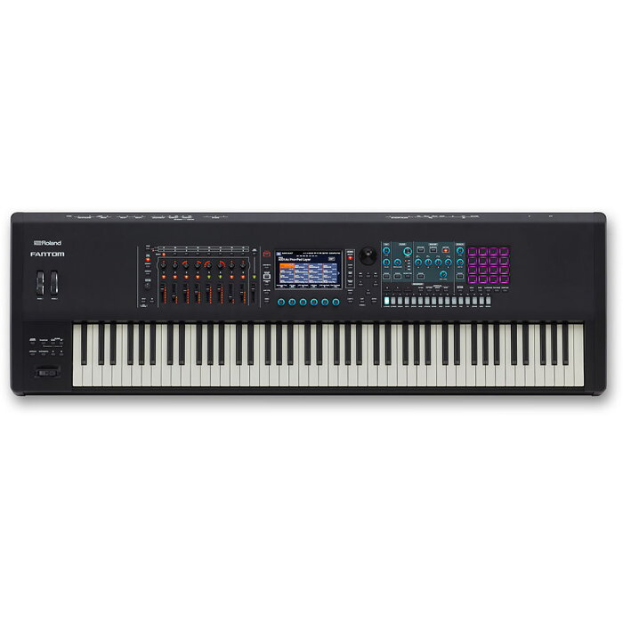 ROLAND FANTOM-6 MUSIC WORKSTATION シンセサイザーキーボード
