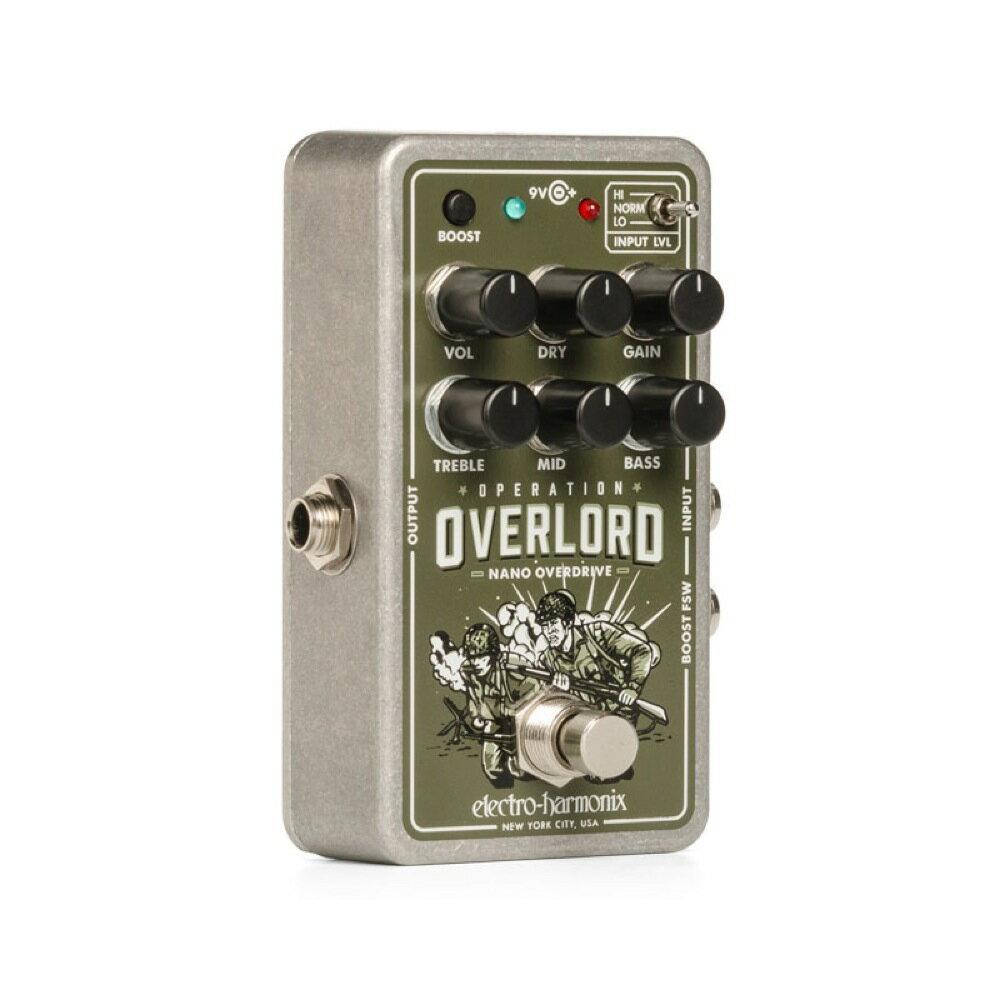 ギター用アクセサリー・パーツ, エフェクター ELECTRO-HARMONIX Nano Operation Overlord