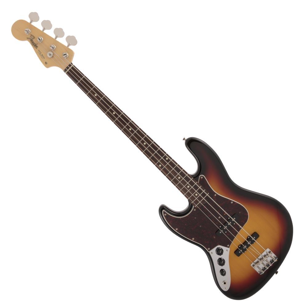 ベース, エレキベース Fender Made in Japan Traditional 60s Jazz Bass LH RW 3TS
