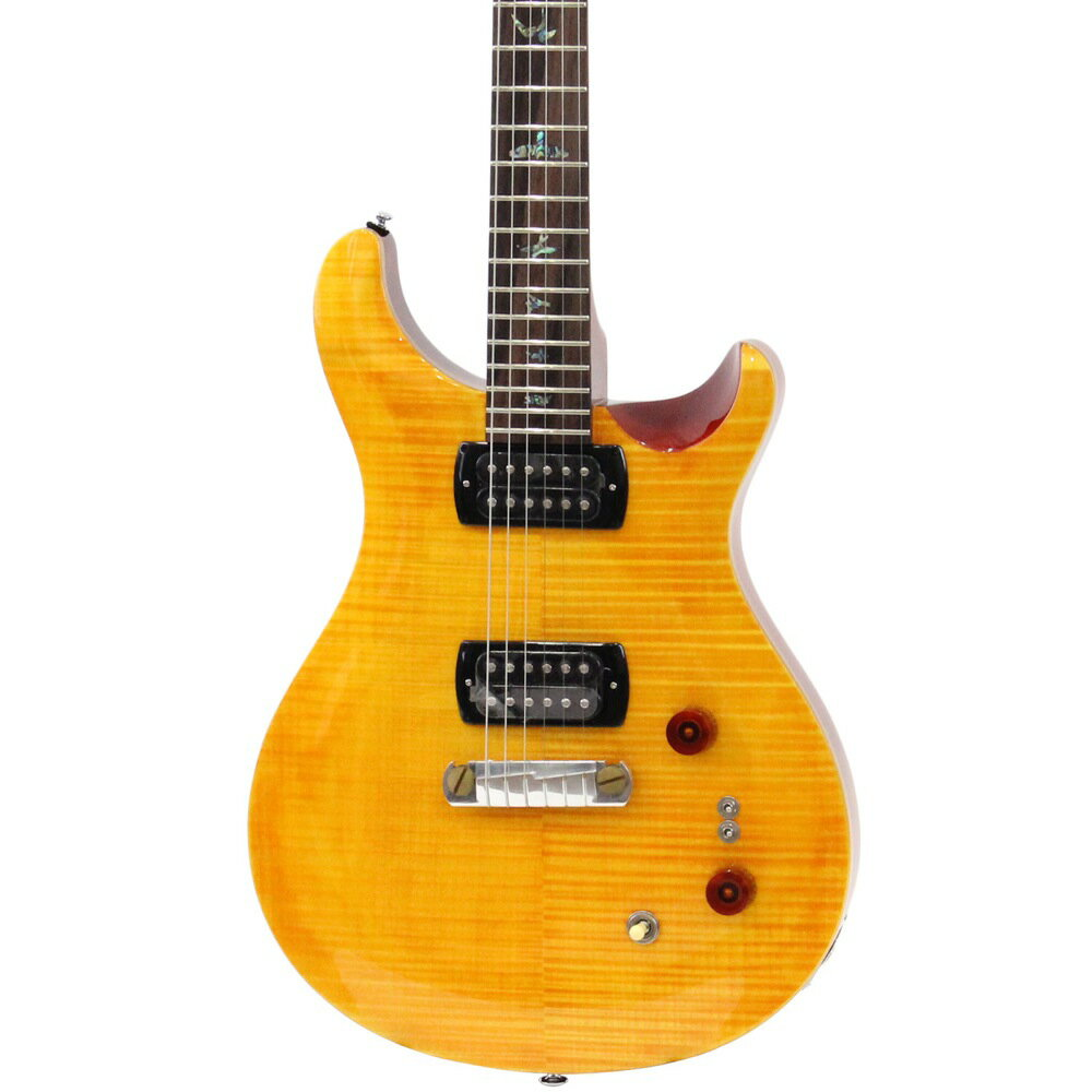 ギター, エレキギター PRS SE Pauls Guitar Amber