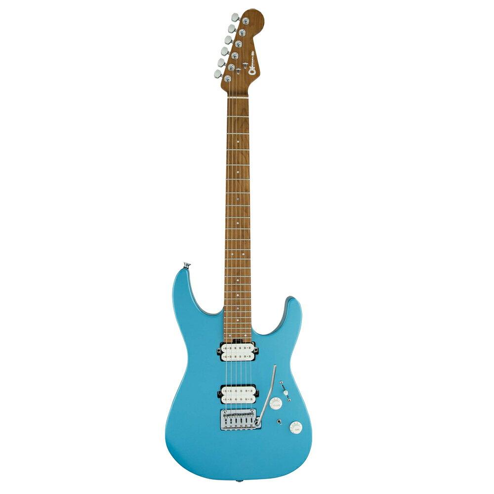 ギター, エレキギター CHARVEL Dinky DK24 HH 2PT CM Matte Blue Frost