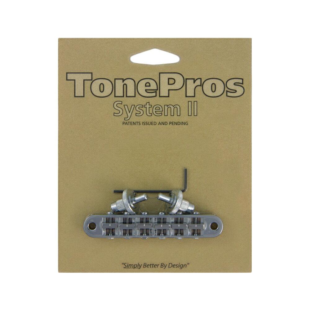 ギター用アクセサリー・パーツ, ブリッジ TonePros T3BP-C TonePros Standard Tuneomatic