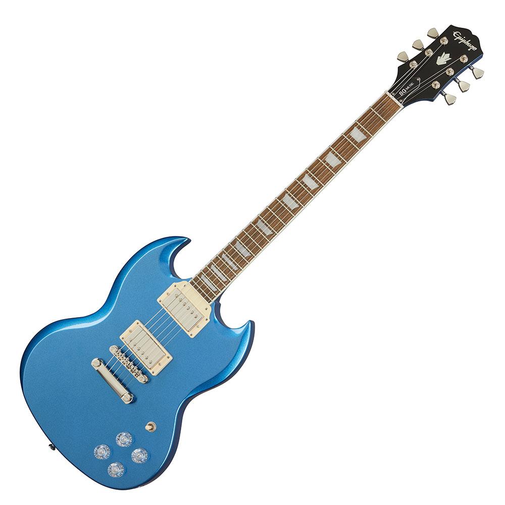 ギター, エレキギター Epiphone SG Muse Radio Blue Metallic