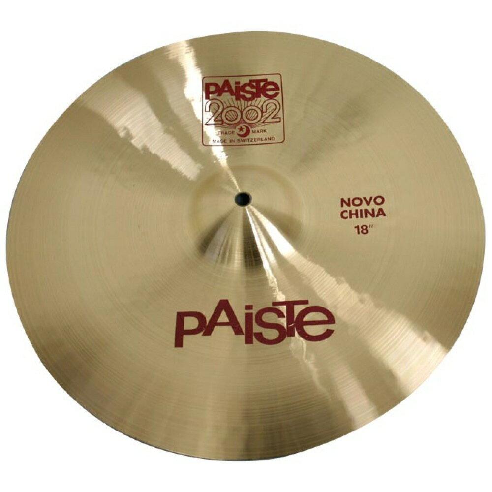 ドラム, クラッシュシンバル PAISTE 2002 Novo China 18