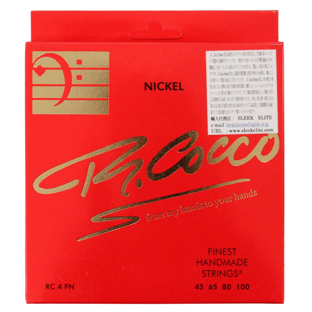 ベース用アクセサリー・パーツ, 弦 R.Cocco RC4F (N) 45-100
