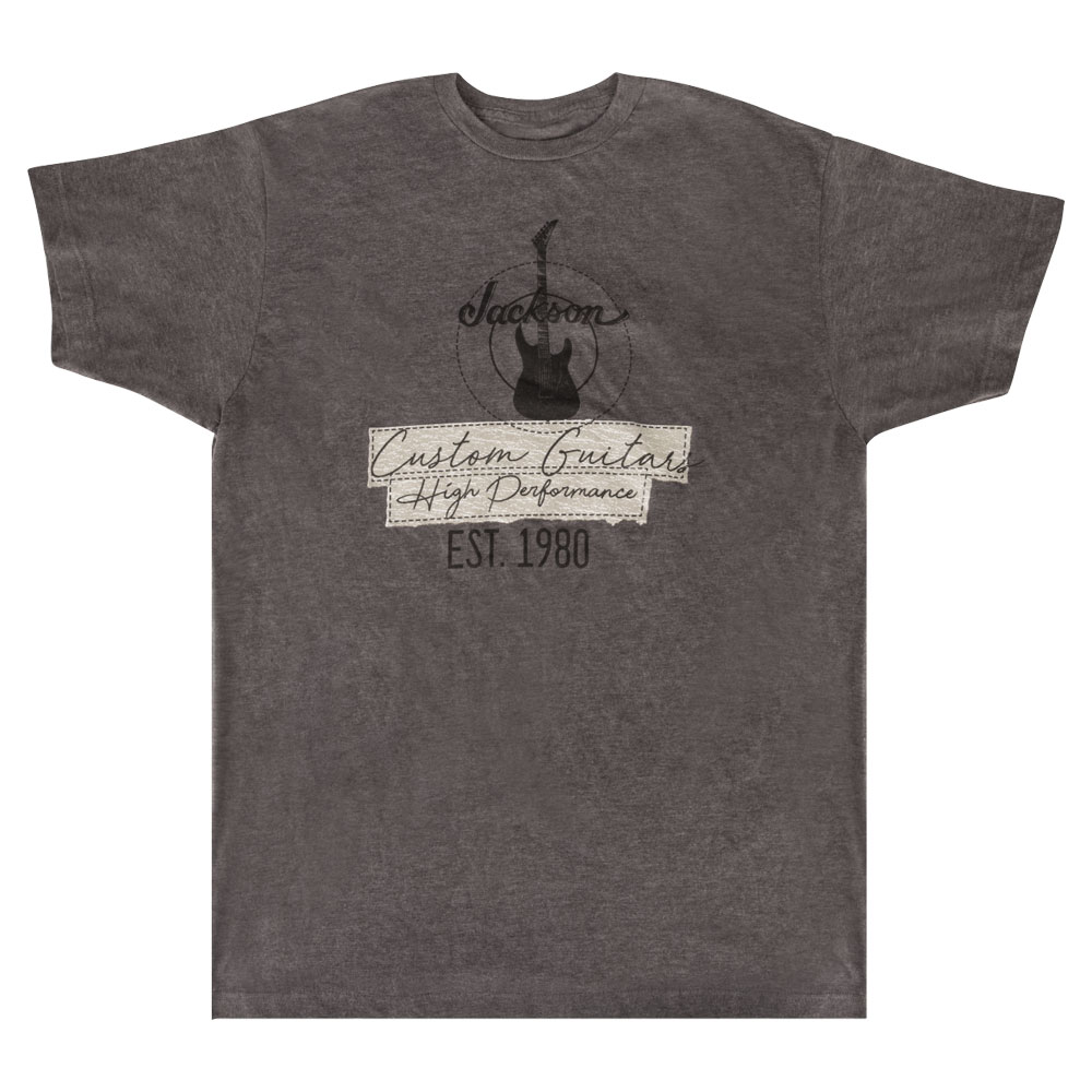 トップス, Tシャツ・カットソー Jackson Custom Guitar T-Shirt Charcoal L T