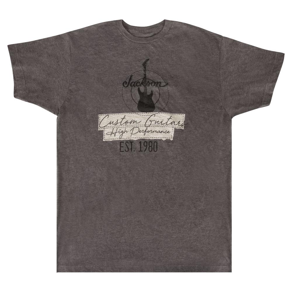 トップス, Tシャツ・カットソー Jackson Custom Guitar T-Shirt Charcoal XL T