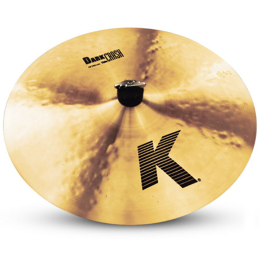"ジルジャン『K Zildjian DARK CRASH THIN 16""』"