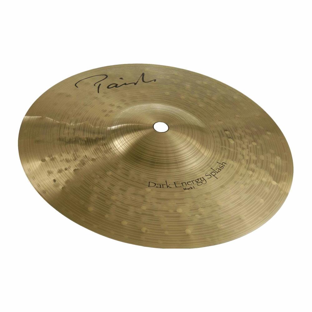 ドラム, クラッシュシンバル PAISTE Signature Dark Energy Splash Mark I 8