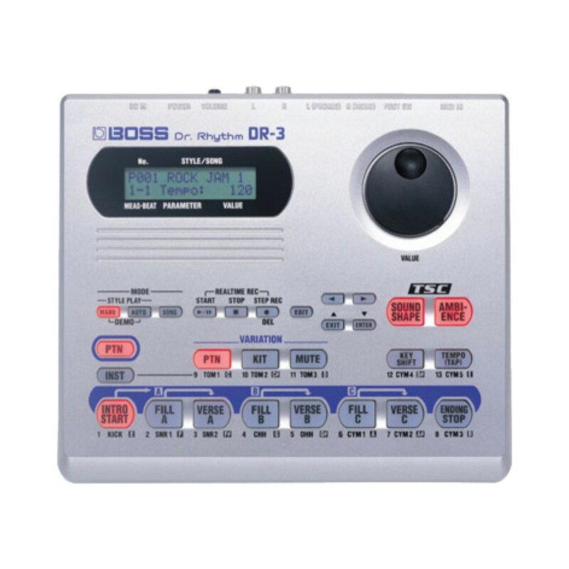 DAW・DTM・レコーダー, シーケンサー・リズムマシン BOSS DR-3