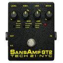 TECH21 SansAmp GT2 アンプシミュレーター ギターエフェクター