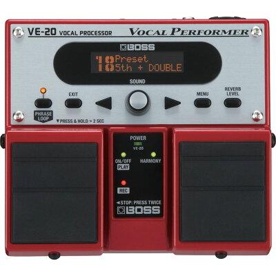 ボス ボーカルプロセッサー ボーカルパフォーマーBOSS VE-20 ボーカルエフェクター