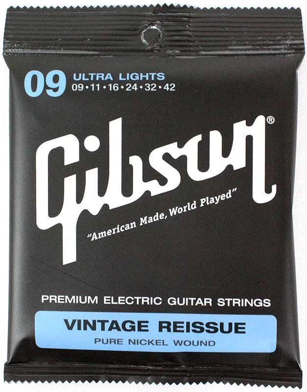 ギター用アクセサリー・パーツ, エレキギター弦 GIBSON SEG-VR9