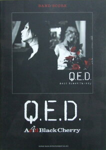 Acid Black Cherry Q.E.D. バンドスコア シンコーミュージック