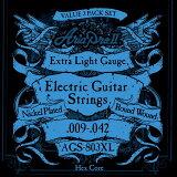 AriaProII AGS-803XL 3セットパック エレキギター弦