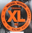 D'Addario EXL160 Medium エレキベース弦