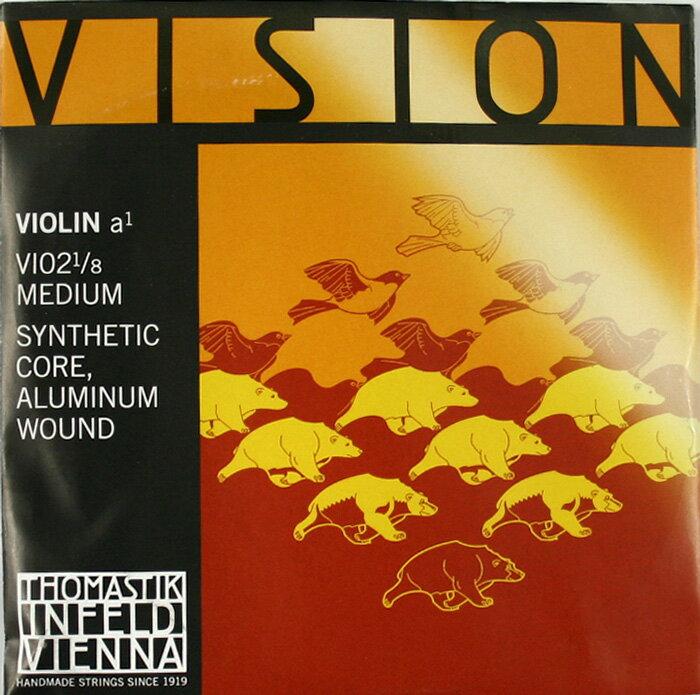 バイオリン用アクセサリー・パーツ, 弦 Thomastik VISION VI02 18 A