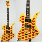 BURNYMG-145S/HYhideモデルイエローハートエレキギターフェルナンデスhideモデルYELLOWHEART(イエローハート)