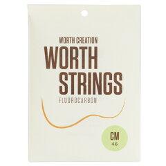 ワースストリングス ウクレレ弦 クリアフロロカーボン MediumWorth Strings CM Medium ウクレレ弦
