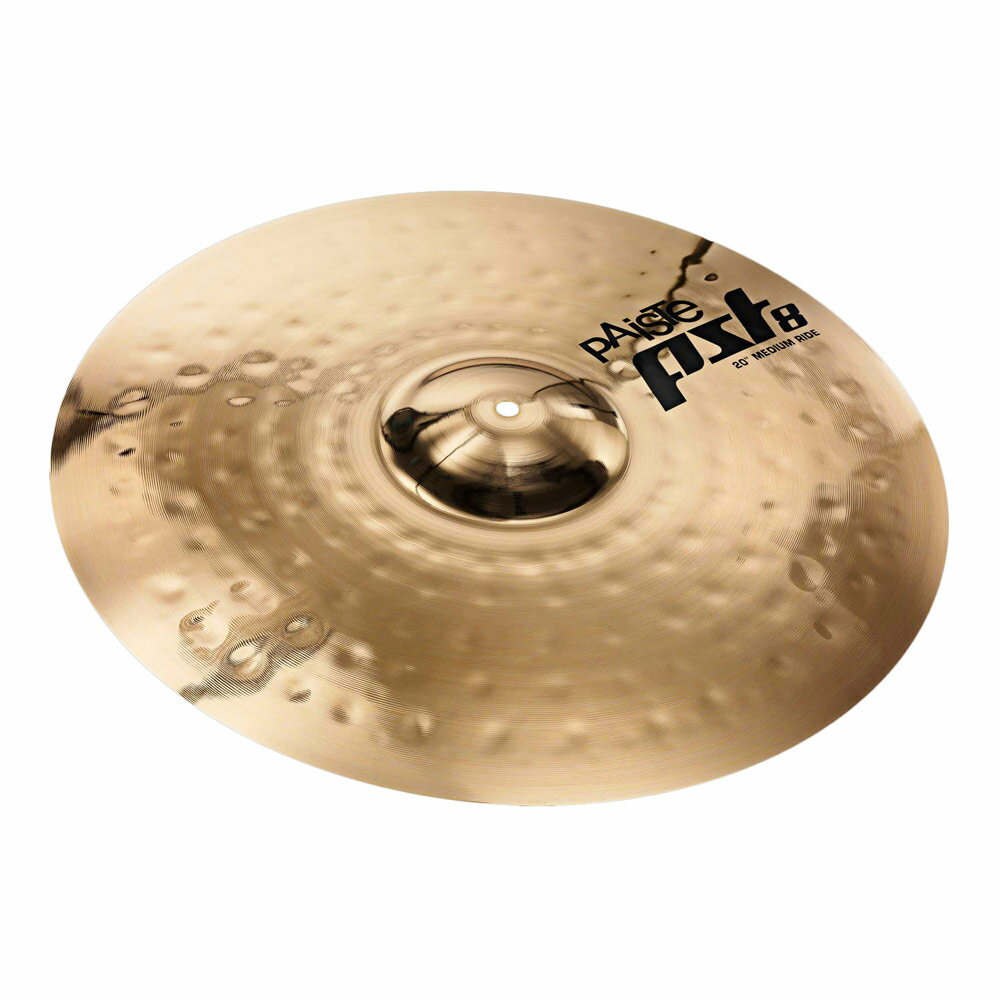 ドラム, ライドシンバル PAISTE PST 8 Reflector Medium Ride 20 20