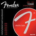 Fender Bass Strings Nickel Plated Steel 72506M 30-130 6弦エレキベース弦