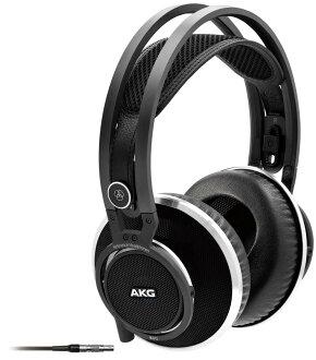 供與開放AKG K812空氣型耳機最尖端的音樂創作對應的回想監視使用的的耳機