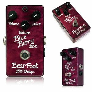 ベアフットギターエフェクツ ベース用オーバードライブ BBBODBearfoot Guitar Effects BlueBerr...