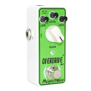 �ޥ��ƥ���������� ����ѥ��Ȥǥ���ץ�ʥ����С��ɥ饤��Mighty Sound M2 Overdrive ������...