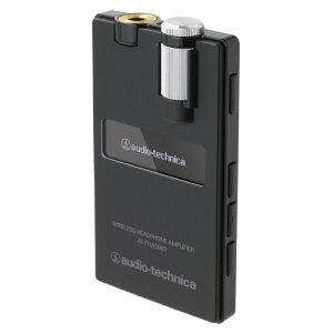 優れた音響性能を凝縮した高出力ワイヤレスヘッドホンアンプAUDIO-TECHNICA AT-PHA50BT BK ワイ...